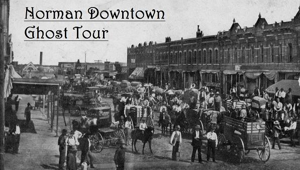 Downtown Norman Ghost Tour